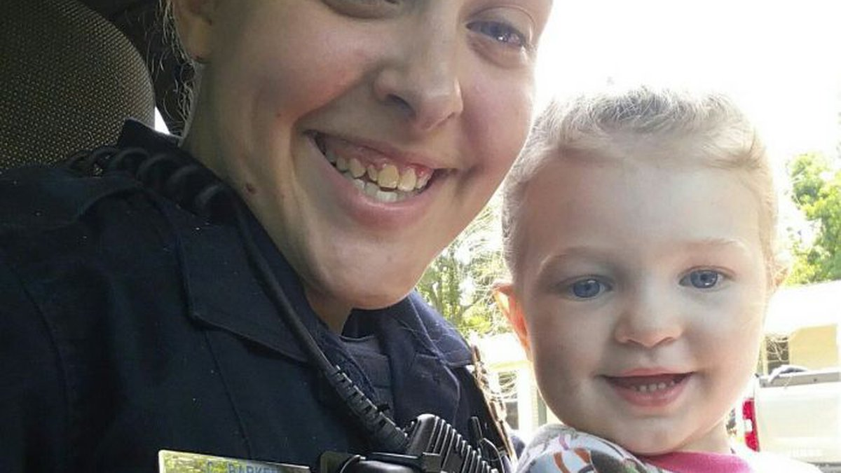 Investigators believe Cassie Barker was visiting another officer at his home when she left her...