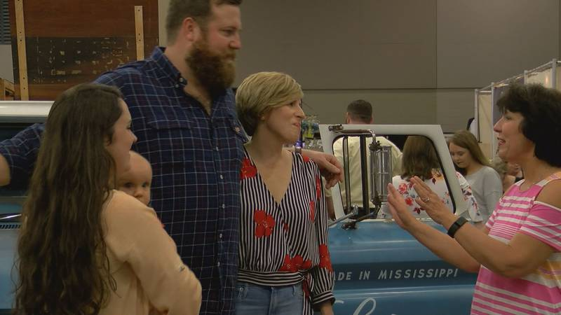 Ben and Erin Napier, stars of the HGTV show Home Town, were special guests at the Mississippi...