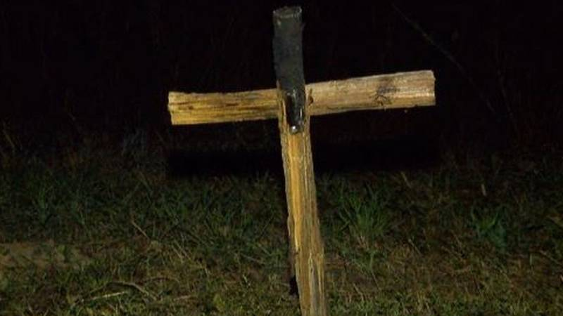 Louie Bernard Revette was sentenced to 11 years for burning a cross in a yard to threaten,...