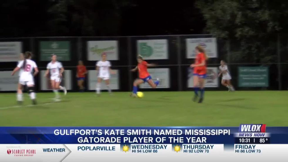 Gulfport's Kate Smith named Mississippi Gatorade Player of the Year