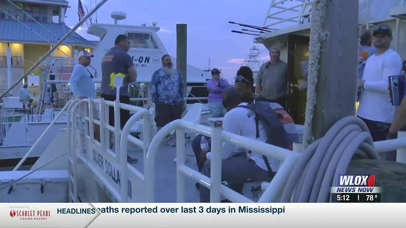 Monday morning, nearly 20 veterans involved with the Wounded Warrior Project boarded the Silver...