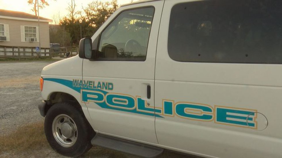 Waveland police officers have worked out of three locations since the police station was...