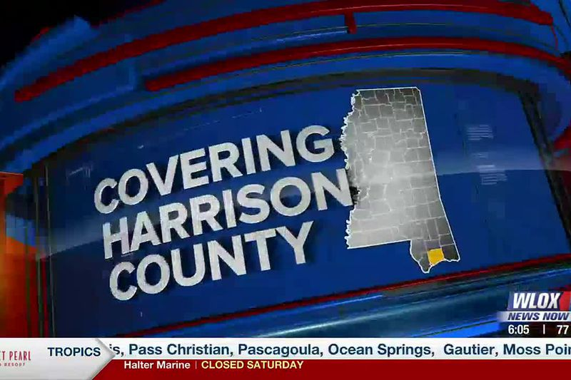 Tropical weather watch in  Harrison County