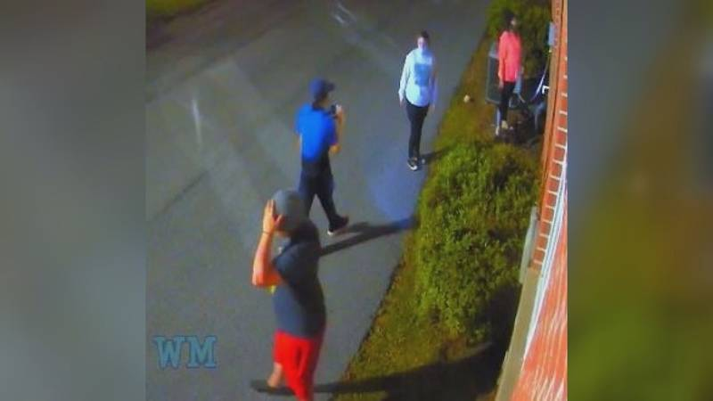 Authorities say these four young adults - who are believed to be between the ages of 17-25 -...