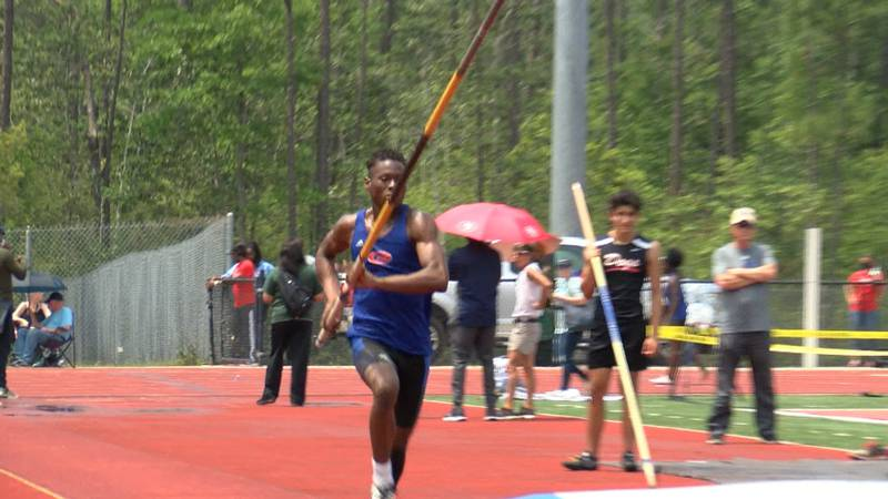 Schools from all around South Mississippi competed in the State 6A track meet Saturday.