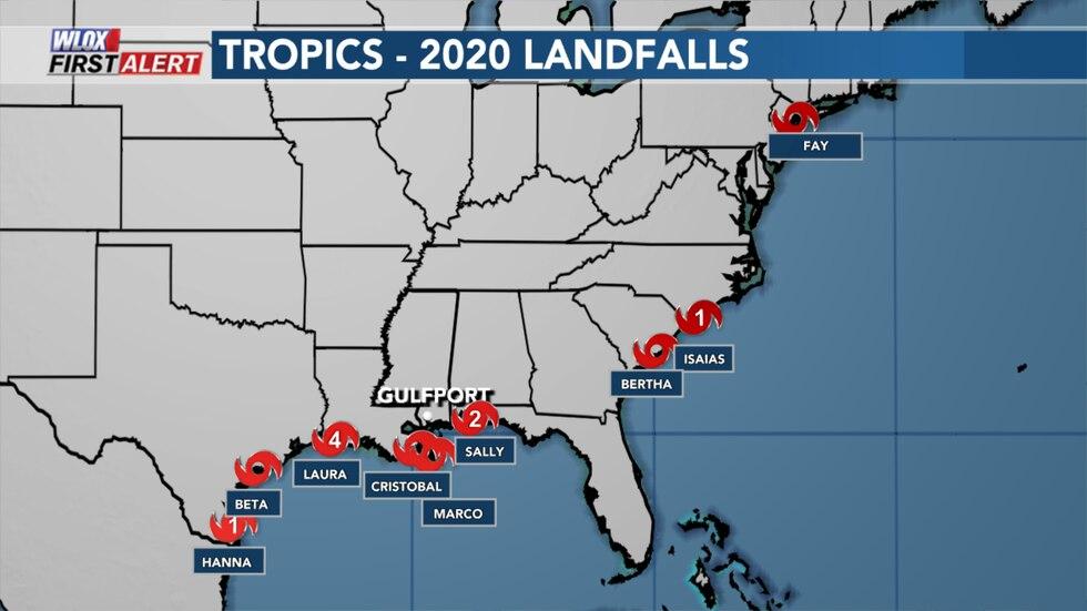 2020 Landfalls