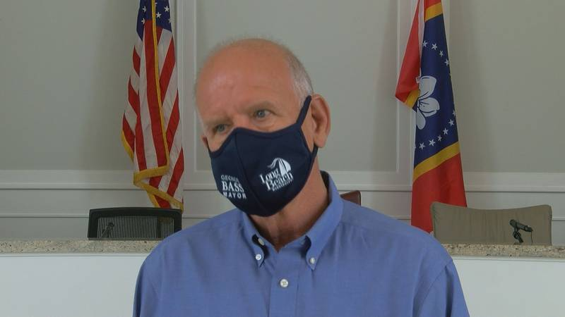 Long Beach Mayor George Bass ordered that anyone inside a municipal building must wear a mask.