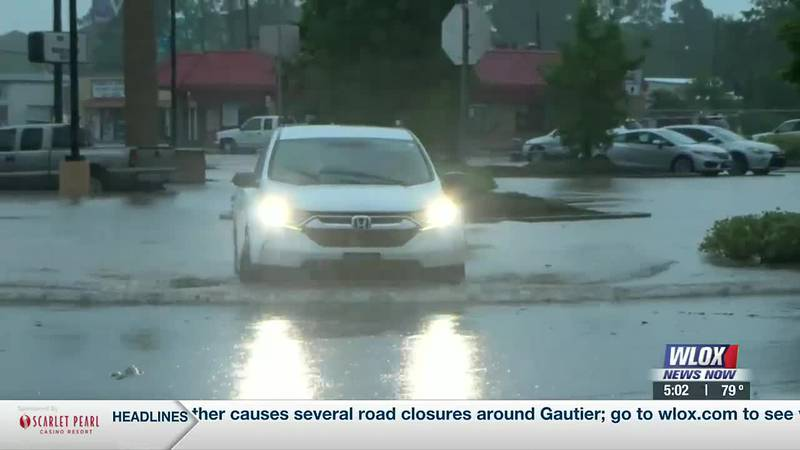 The first round of heavy rainfall caused widespread flooding in many areas of D'Iberville and...