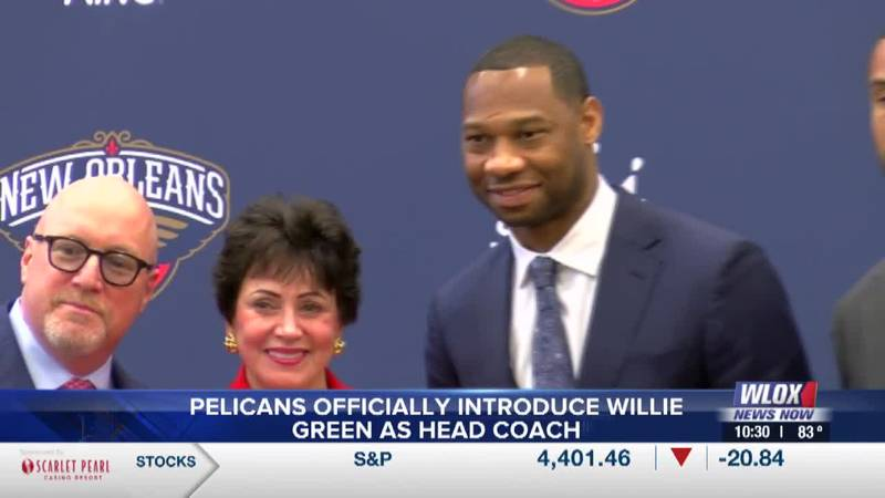 Pelicans introduce Willie Green as head coach