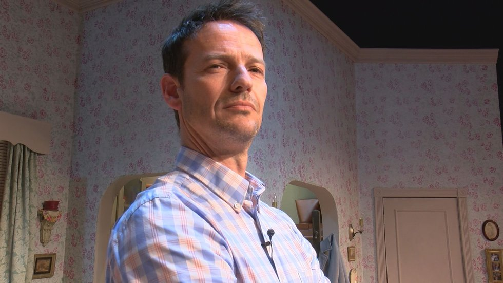 David Slatten will perform around 40 different characters in Center Stage's one-man show.
