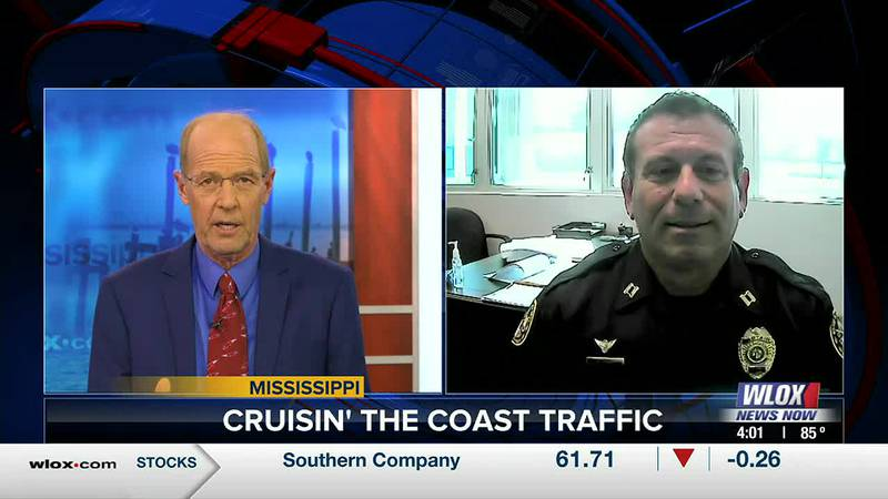 Captain Brian Dykes explains how Biloxi Police plan to keep traffic in check as Cruisers...