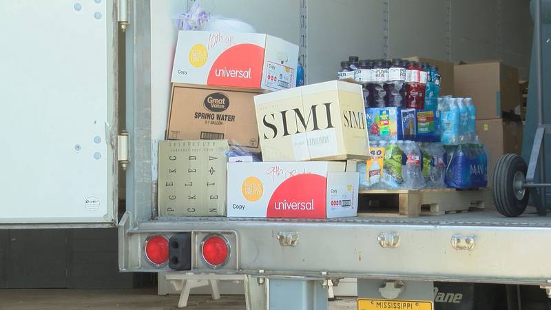 St. Thomas the Apostle Catholic Church already has several pallets of donated items after just...