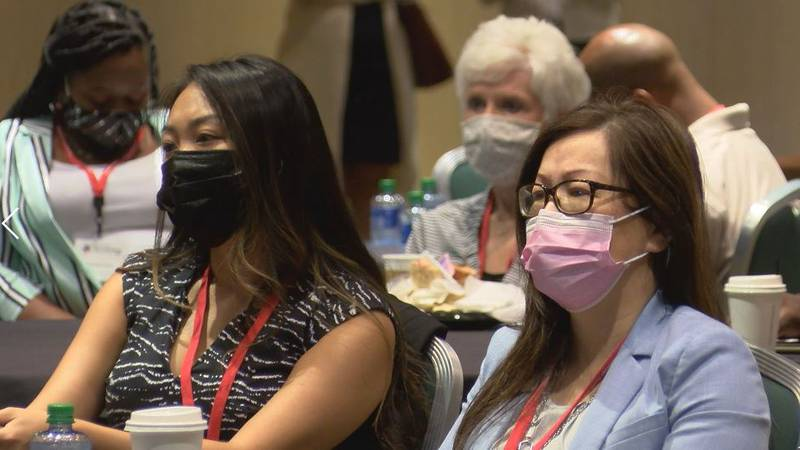 About 250 people attended the first Mississippi Health Disparities.