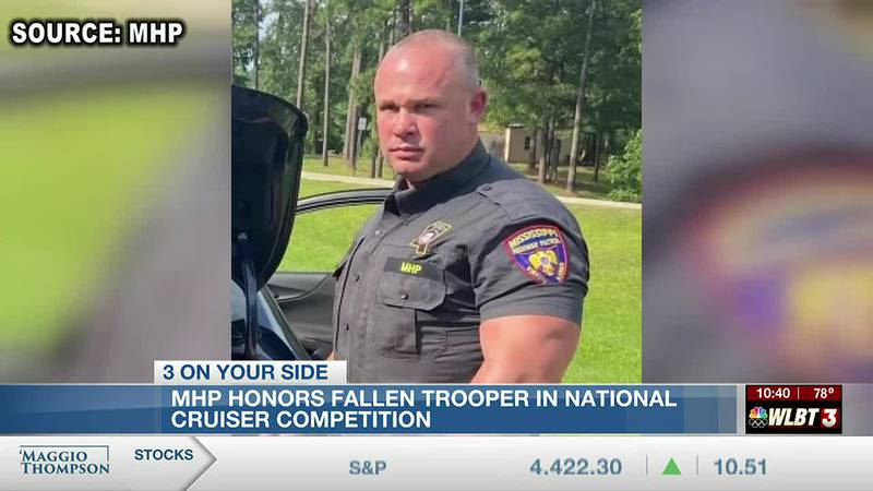 The Mississippi Highway Patrol honors fallen trooper in national cruiser competition