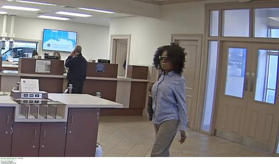 Gulfport Police are searching for a woman who robbed a BancorpSouth location Friday morning.