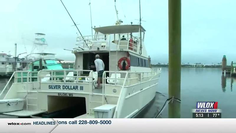 Louisiana Charter boat fishing captains displaced by Hurricane Ida are setting up shop in...