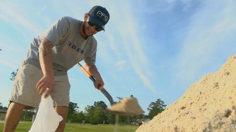 Residents across the Gulf Coast have been busy shoveling sand and making preparations for...