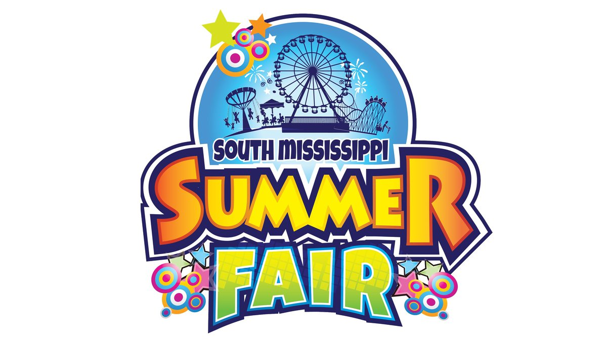 The South Mississippi Summer Fair runs June 6-16, 2019 on the grounds of the Mississippi Coast...