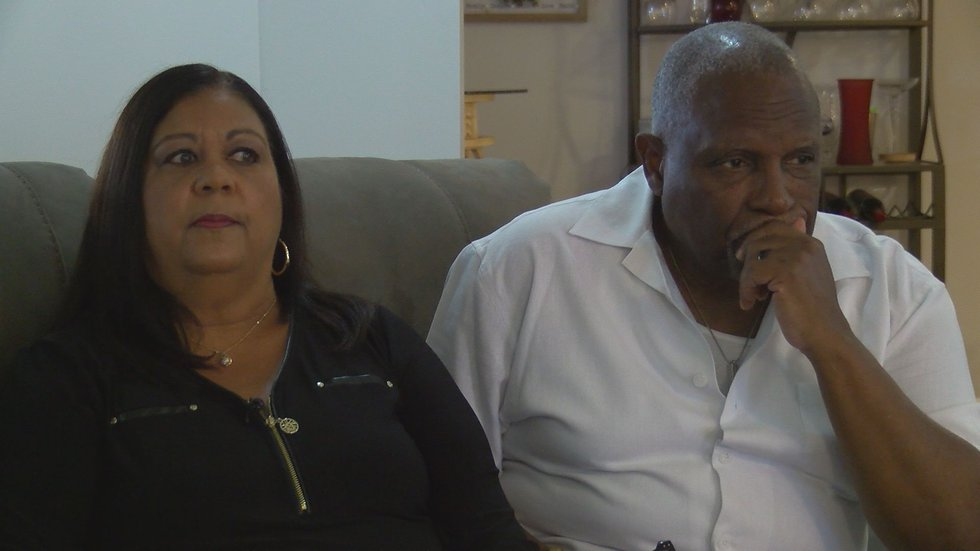 For Robert and Renata Patterson, domestic violence has taken their daughter and grandson away,...