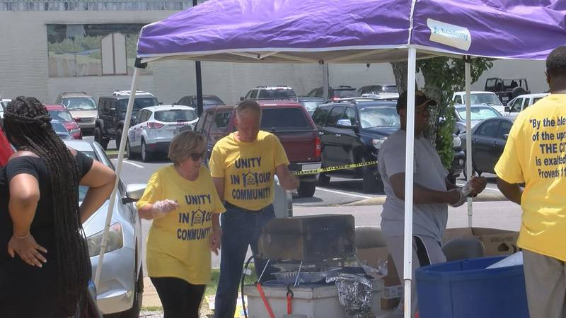 Unity in our Community event in Moss Point.