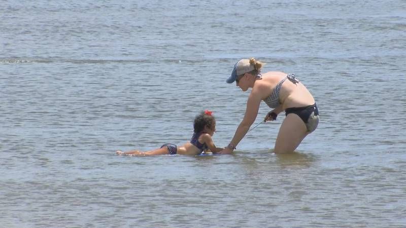 Officials recommend that children have a flotation device of some kind when they get in any...