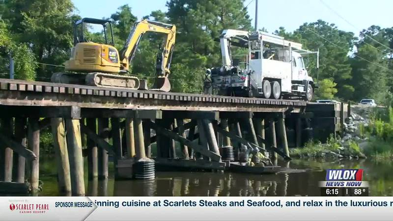 Progress is being made on a big project for Gulfport's industrial area - bringing back the...