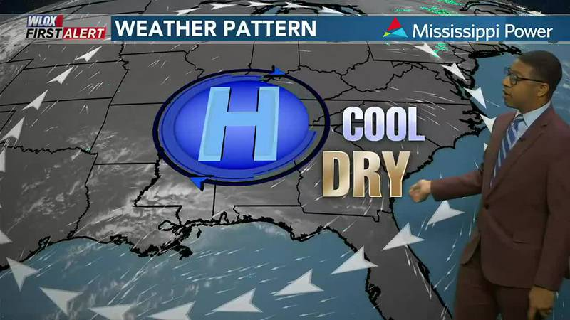 Dry start to the week. Rainier weather may arrive by midweek. Click and watch the forecast...