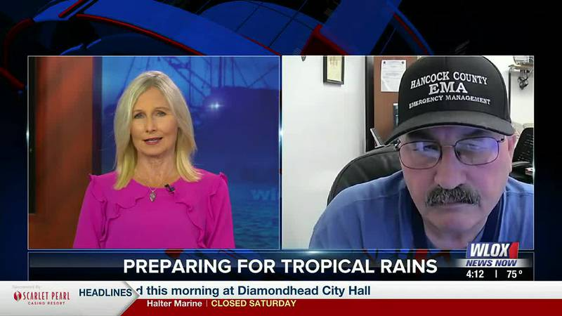 Hancock County EMA Director Brian Adam updates us on all the storm preparations underway in his...