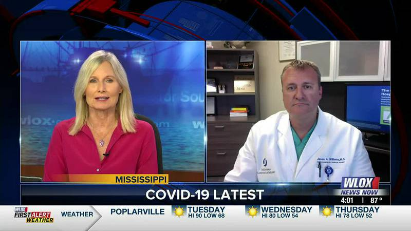 Cardiothoracic surgeon Dr. Jason Williams from Singing River Health System joins us to talk...