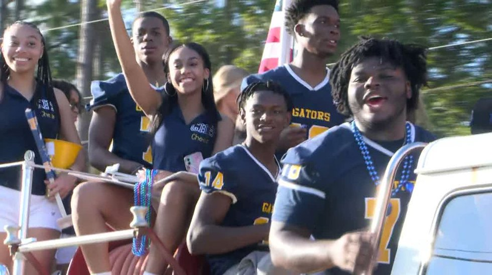 Gautier High held its first homecoming parade since the pandemic began, marking a return to...