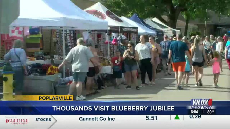 The town's cash crop was on full display on Saturday for an event that has grown since it began...