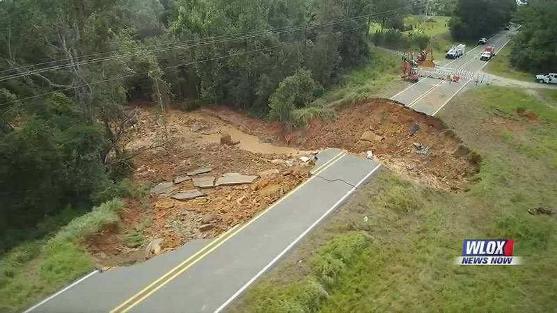 Highway 26 is out of commission following this week's deadly washout. Mississippi Department of...
