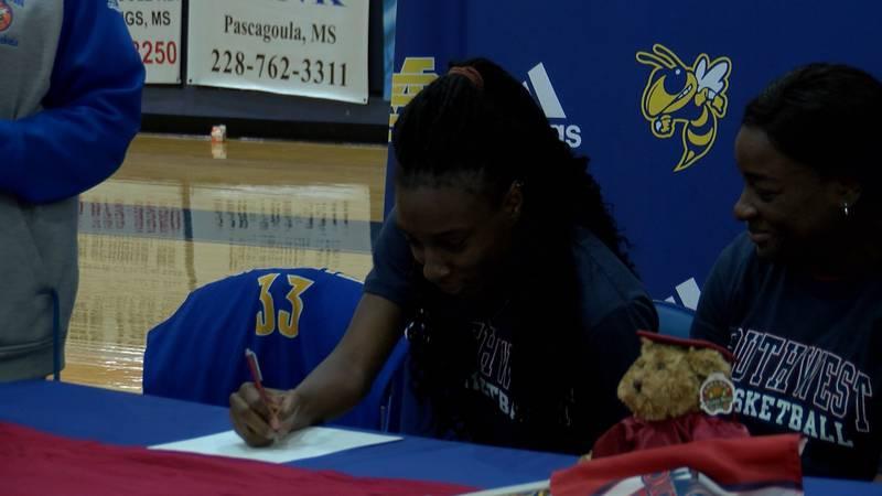 St. Martin senior, Antonia Bryant, signed with Southwest Wednesday.