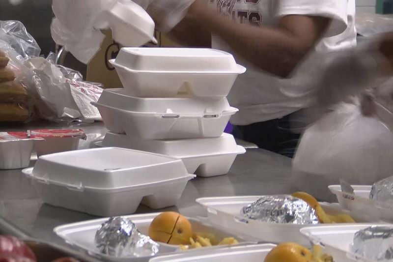 The school district's Summer Feeding Program offers both breakfast and lunch meals for free to...