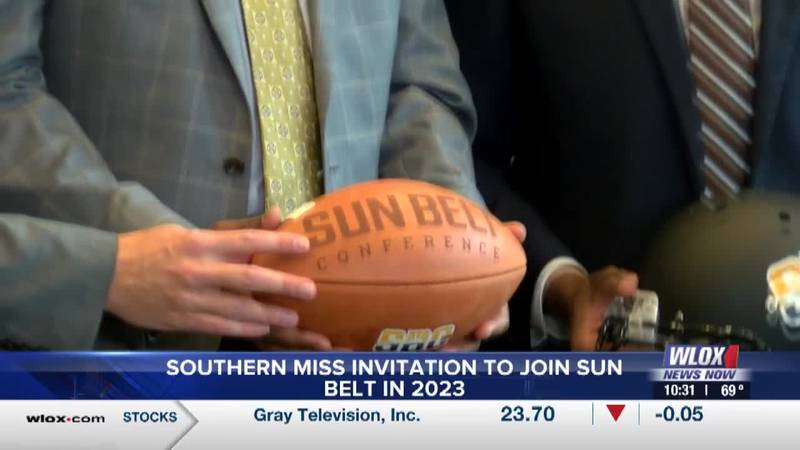 Southern Miss officially announces it will join Sun Belt in 2023