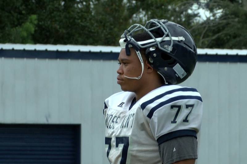 Moss Point's Breland Curry has become a leader on and off the field.