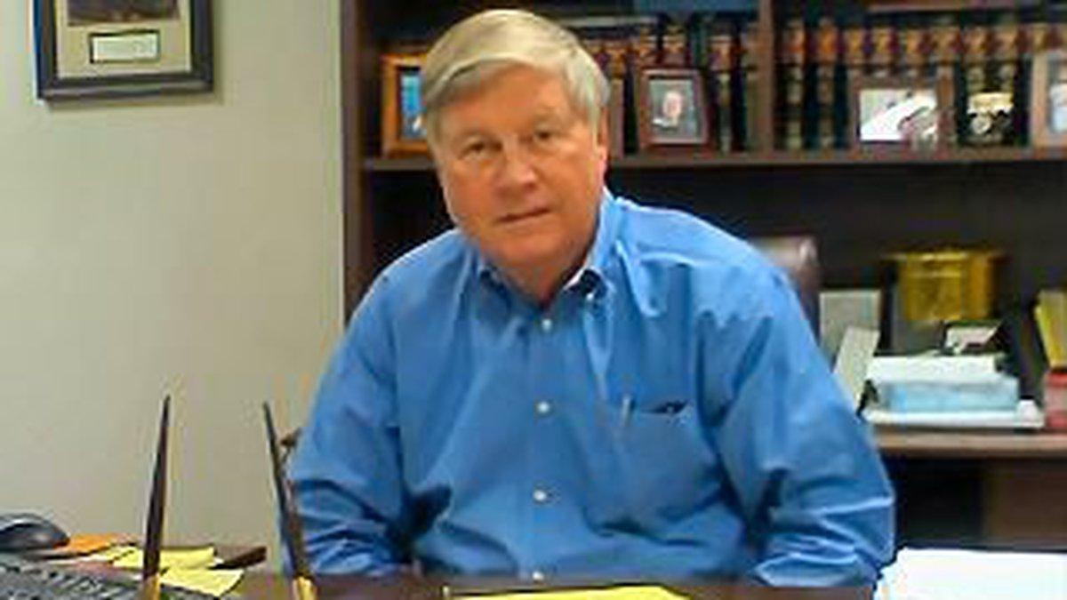 Harrison County School Superintendent Henry Arledge