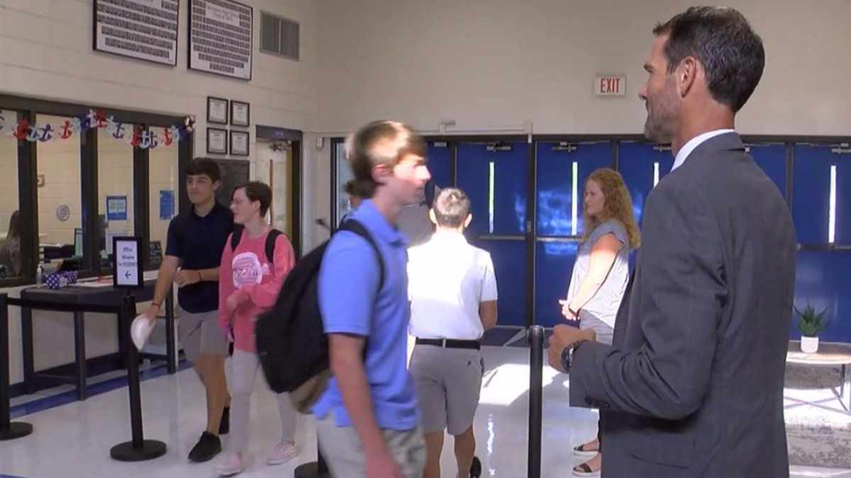 Wednesday meant another round of checking in at schools around the Jackson County District for...