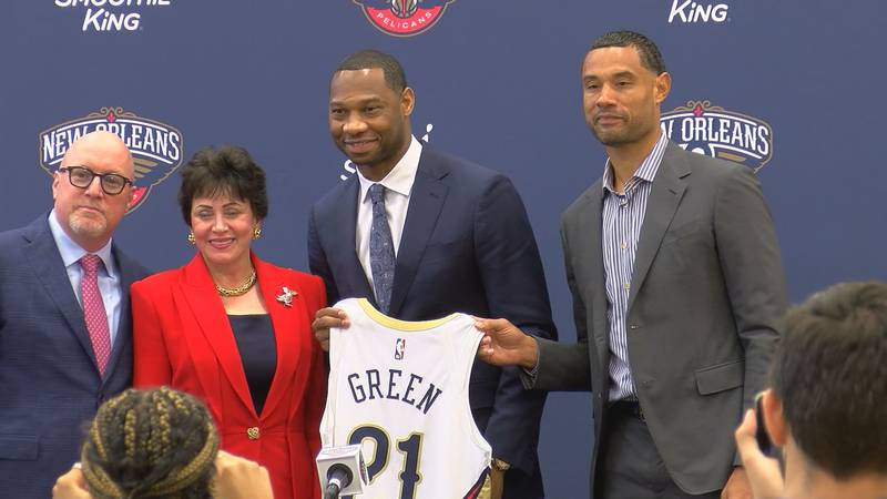 Willie Green is introduced as Pelicans head coach