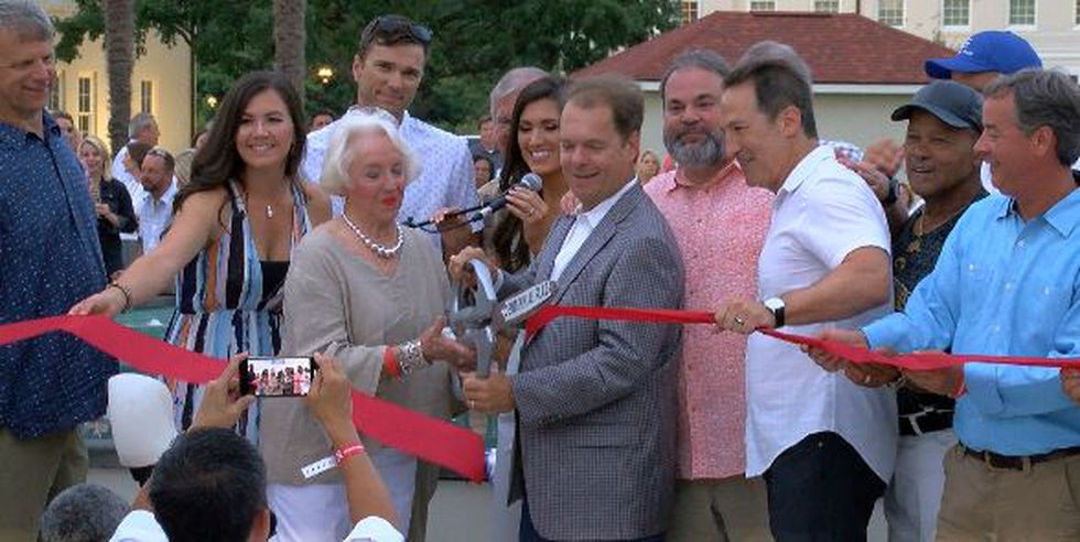 Centennial Plaza celebrates first of two ribbon cuttings