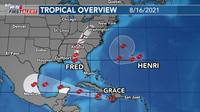Monday Afternoon Tropics Overview