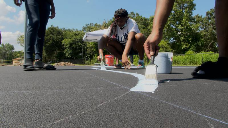 Soon, Moss Point youth will have a pair of fully-renovated basketball courts, thanks to NBA...