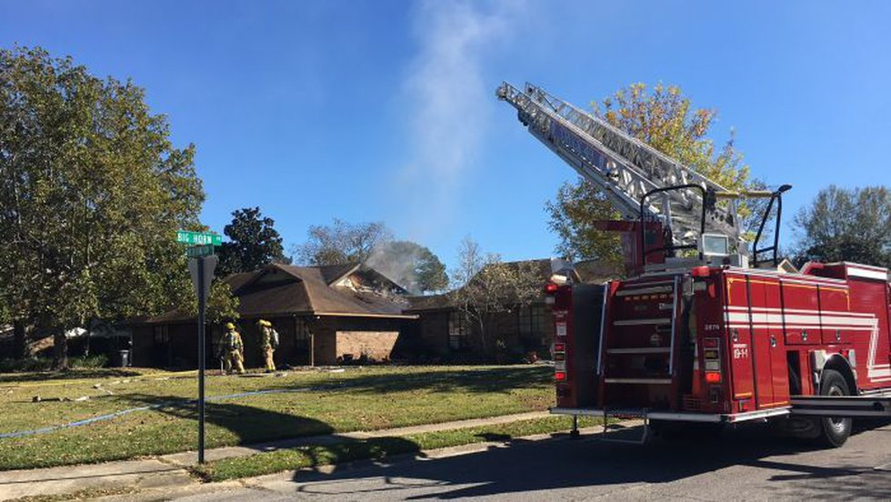 Gulfport firefighters extinguished a fire Friday afternoon at a home on Reservation Drive....