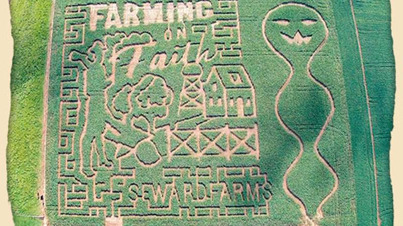One winner will receive a Family 4-Pack of tickets to the Seward Farm Maze valued at $60.