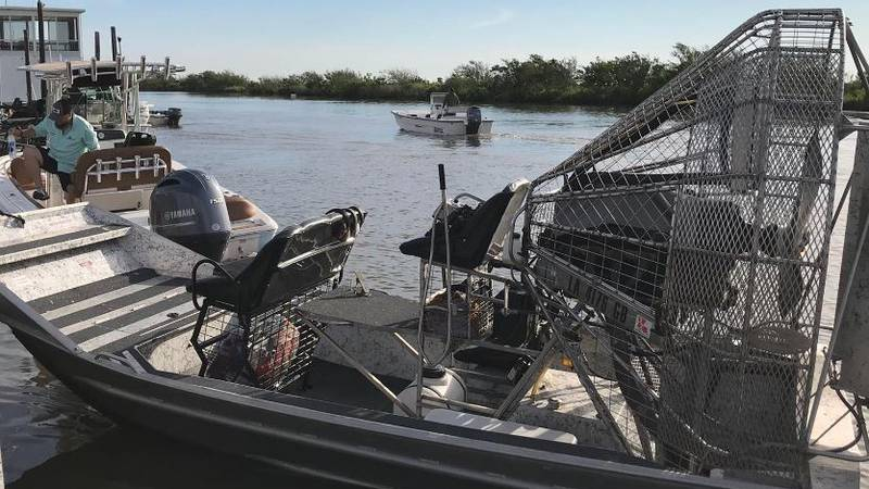 United Cajun Navy President Todd Terrell said they are bringing in cadaver dogs to search the...