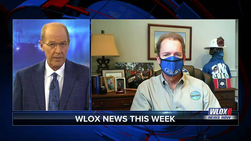 The city of Gulfport is one of several coast cities ordering people to mask up again in...