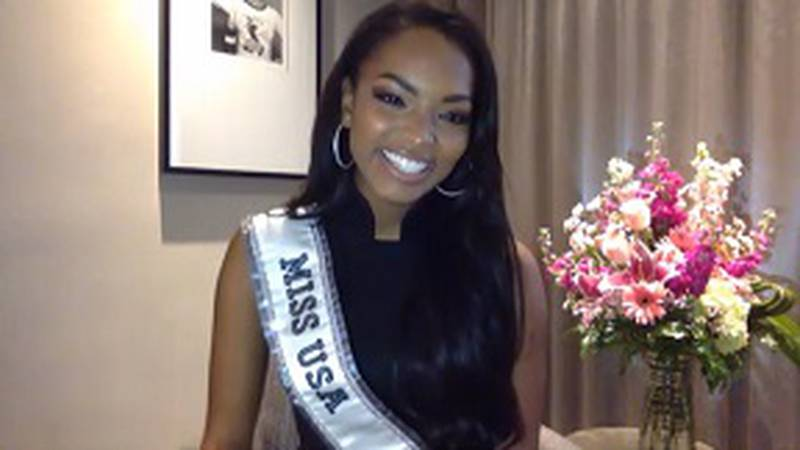 Miss USA competes for the title of Miss Universe in May in Florida.