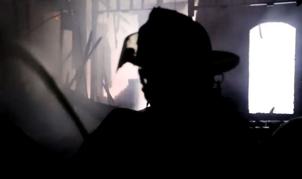 Firefighters from seven Harrison County departments battled an overnight fire in the Oaks...