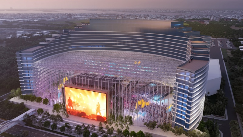 Universal's UMUSIC brand will build one of three new hotels in Biloxi, transforming the old...