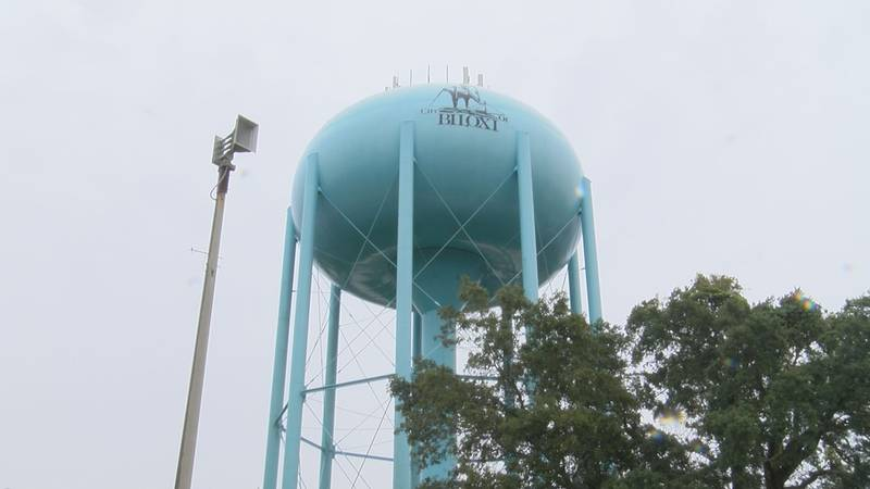 Included among the improvements coming to West Biloxi's infrastructure will be a new water tank...